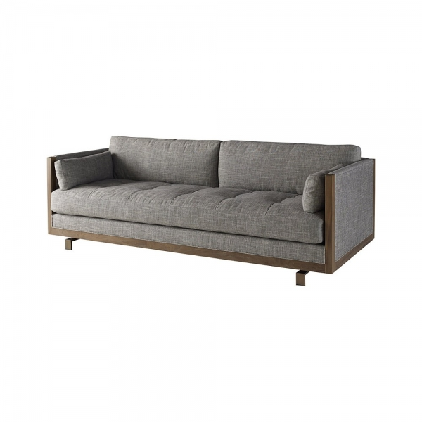 Диван FRAMEWORK LOVESEAT, дизайн компании Baker, дизайнер Barbara Barry