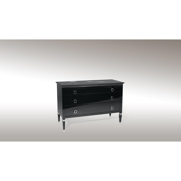 РљРѕРјРѕРґ REGENCY CHEST OF DRAWERS BLACK
