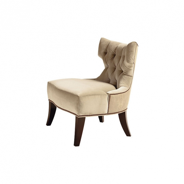 Кресло TUFTED BACK LOUNGE CHAIR, дизайн Baker