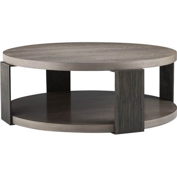 Стол журнальный ANGULO ROUND COCKTAIL TABLE, дизайн Baker