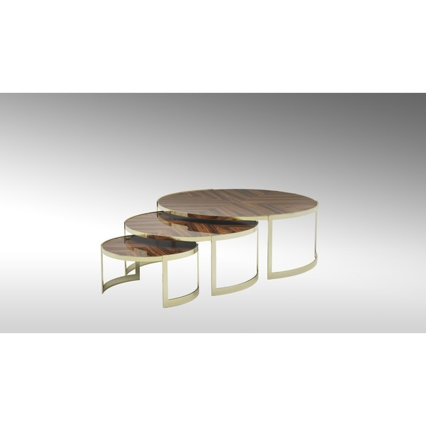 Стол журнальный Anya Coffee Tables, дизайн Fendi Casa