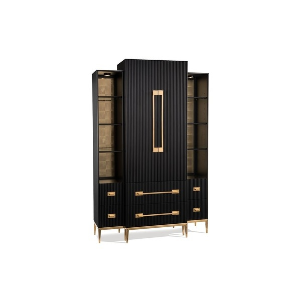 Витрина Black Satin Cabinet John-Richard