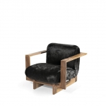Кресло в стиле hi -tech, дизайн Vladimir Kagan, Cubist Lounge Chair