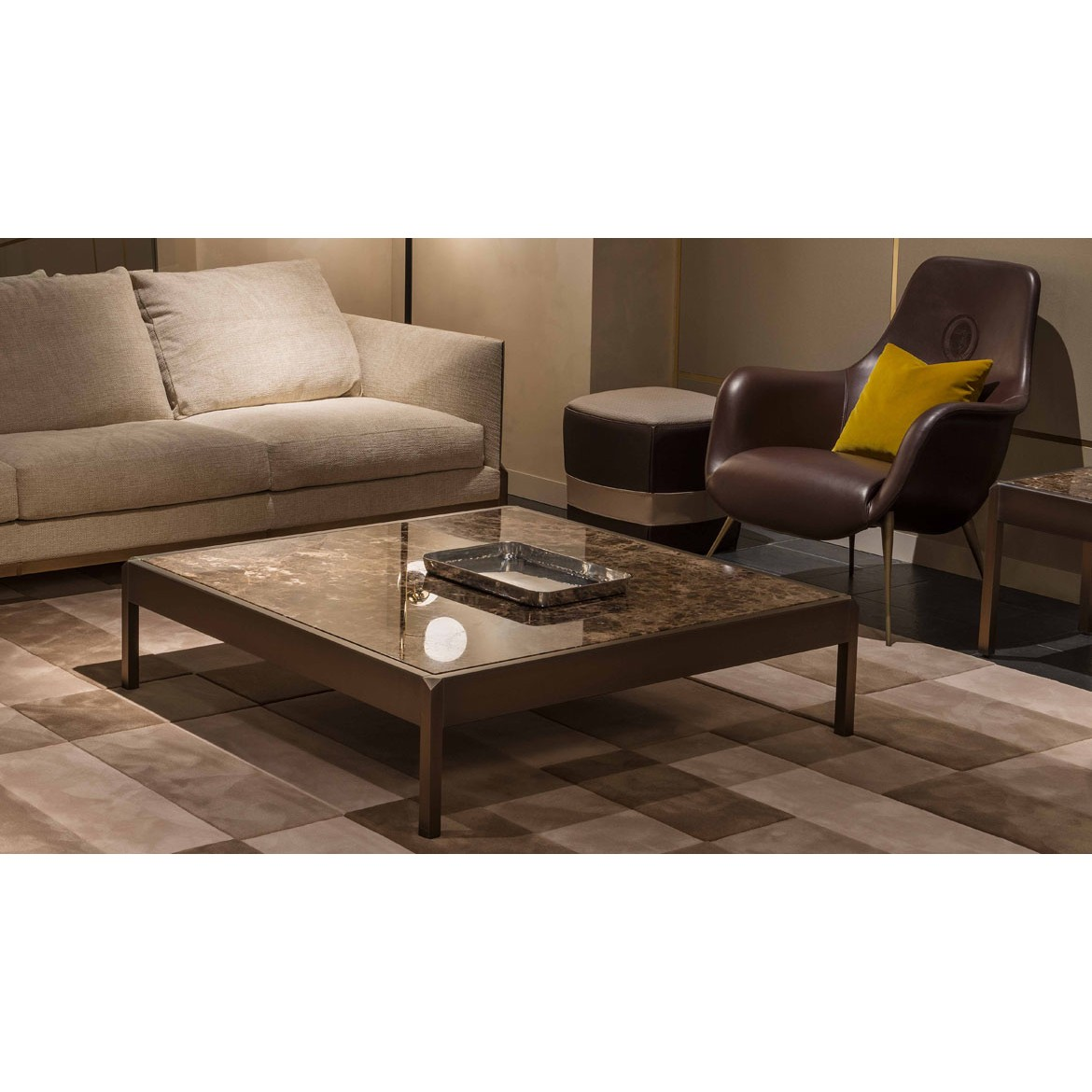 Стол журнальный Band Coffee and Side Tables 3, дизайн Trussardi Casa