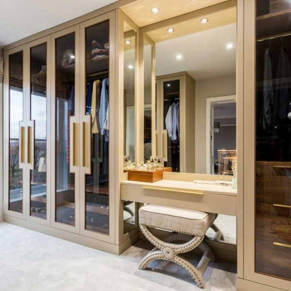 Гардеробная London Interior Design Bath Bespoke