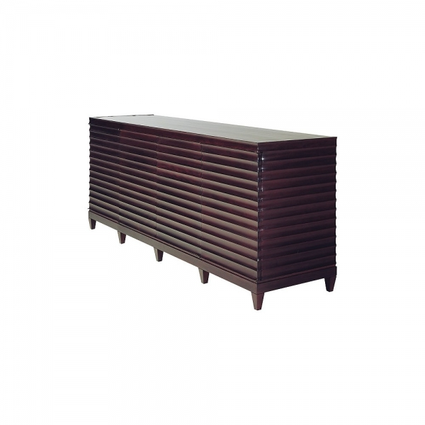 Комод FLUTED LOW CABINET, дизайн компании Baker, дизайн Barbara Barry