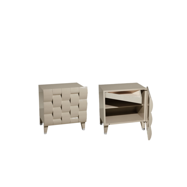 Тумба Astoria Bedside Table, дизайн Fendi Casa