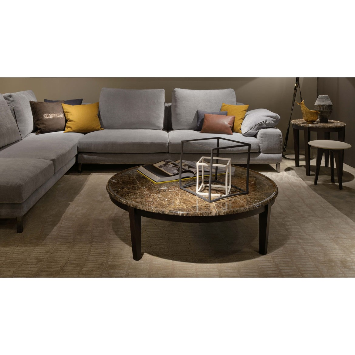 Стол журнальный Inc 414 Coffee and Side Tables 2, дизайн Trussardi Casa